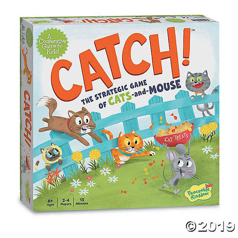 Catch! The Strategic Game of Cats & Mouse