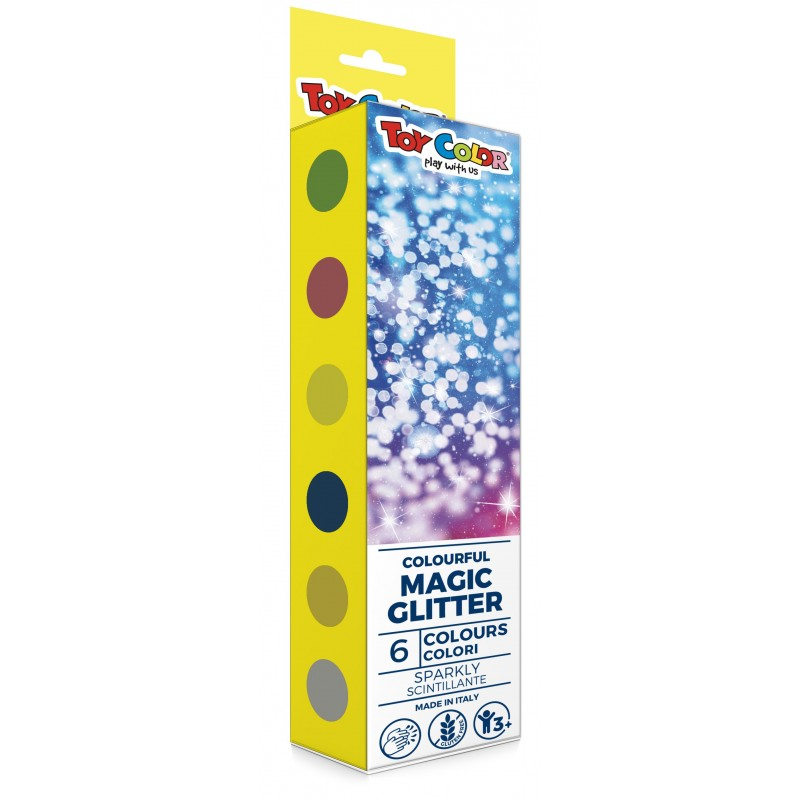 Magic Glitter 6 Colours 25ml