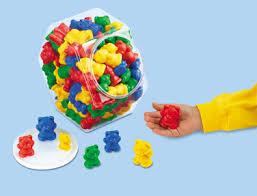 Counters Bears 6 Colour 96pc Jar