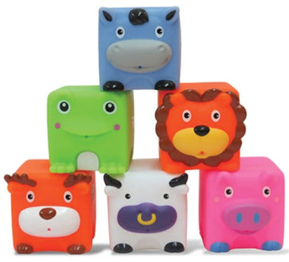 Soft & Squeezy Critter Blocks