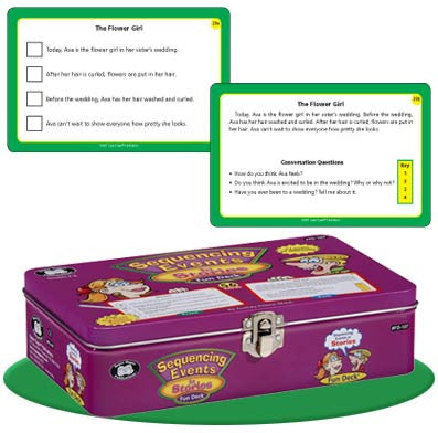 Sequencing Events in Stories Fun Deck (Grades 3 - 5)