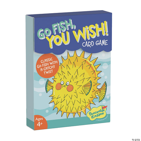 Go Fish, You Wish! Card Game