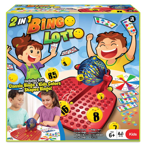 2-in-1 Bingo and Lotto Games