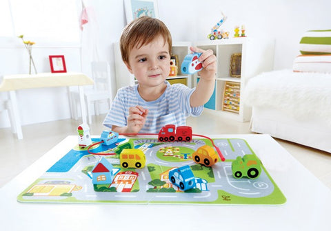 Busy City Play Set - iPlayiLearn.co.za  - 1
