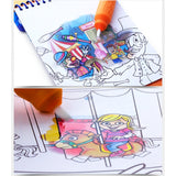 Magic Water Colouring Pad- (Amusement Park)