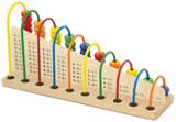 Learning Maths (Wooden Abacus)