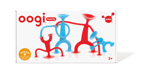 Oogi Family 4pc (2 x red / 2 x blue) - iPlayiLearn.co.za  - 1