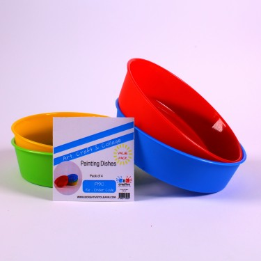 Plastic Painting/Sorting Bowls set of 4