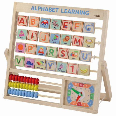 Learning Alphabet and Clock
