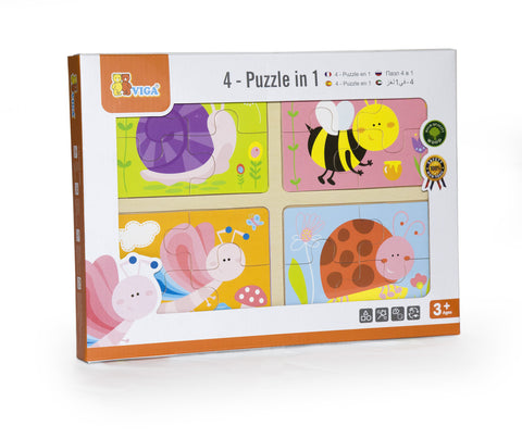 4-In-1 Puzzle: Insect
