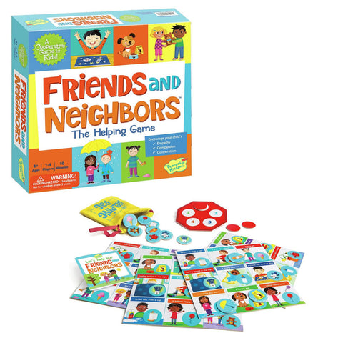 Friends and Neighbors The Helping Game