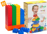 UNiPlay Soft Block PLUMP 60pc