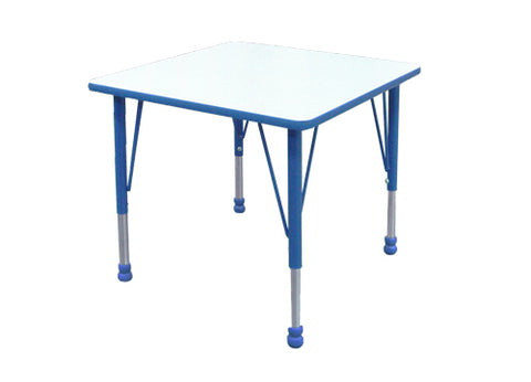 School Table w/ Adjustable legs (60 x 60 cm )