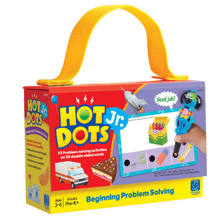 Hot Dots® Jr. Beginning Problem Solving Card Set