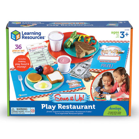Serve It Up! Play Restaurant 36pc