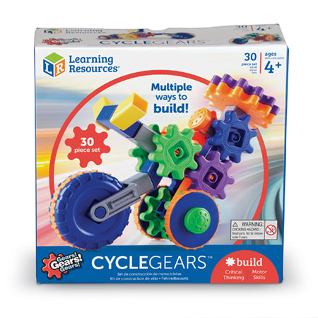 Gears! Gears! Gears!® Cycle Gears 30pc
