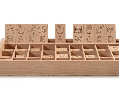 Wooden Spelling Game