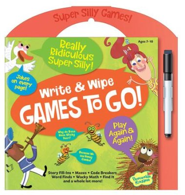 Really Ridiculous Games To Go: Write and Wipe Activities