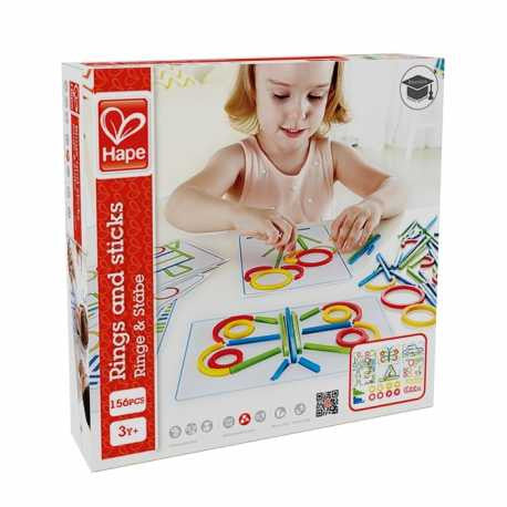 Rings & Sticks 156pc - iPlayiLearn.co.za