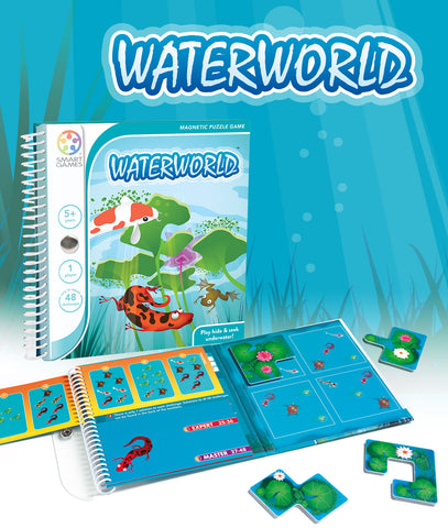 Waterworld Puzzle Game