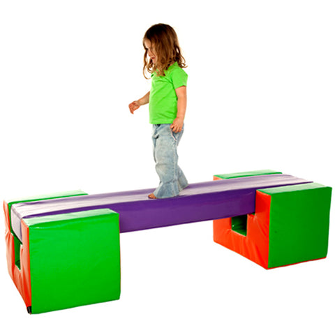 Soft Play Balance Beam Set 3pc