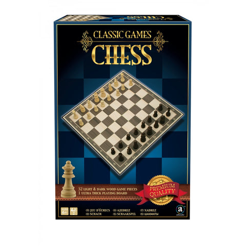 Deluxe Wooden Chess in Gift Box