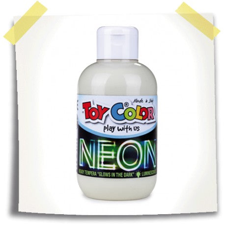 Neon Superwashable Ready Mix Tempera 250ml Bottle