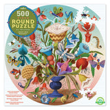 Crazy Bug Bouquet Puzzle Round 500pc