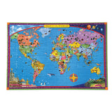 World Map Puzzle 100pc