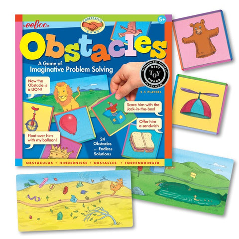 Obstacles Games of Imaginative Solutions
