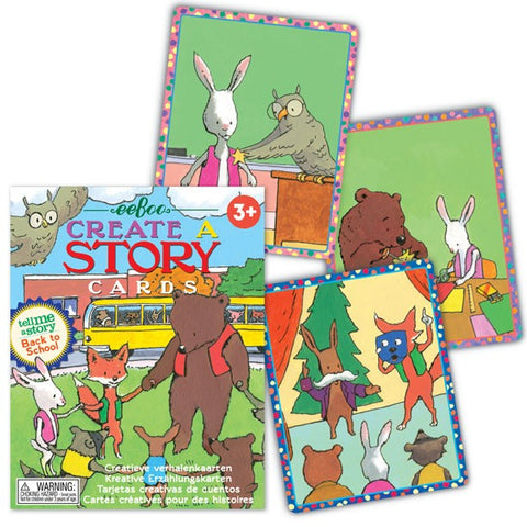 Back to School - Create a Story Cards (Tell Me A Story)