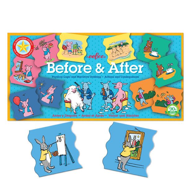 Before and After - A Logical Ordering Activity