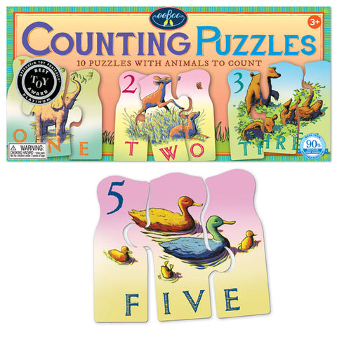 Animal Counting Puzzle 1 - 10