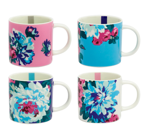 Joules Set of 4 Mugs