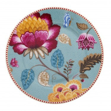 Fantasy Floral Plate