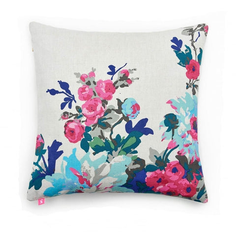 Joules Floral Cushion
