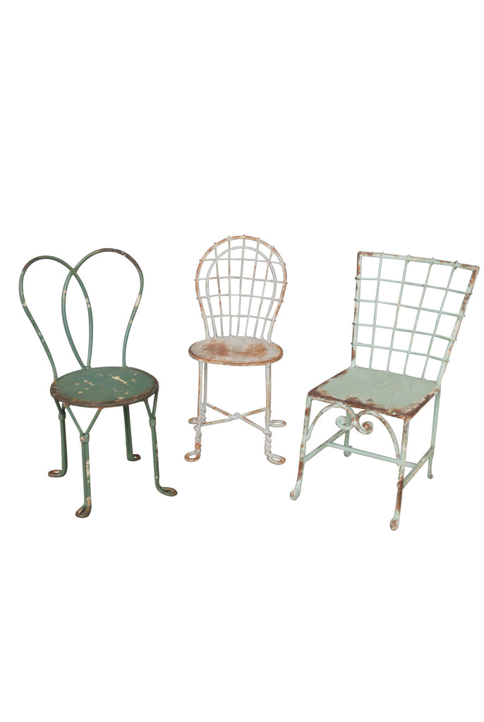 Decorative Miniature Chairs