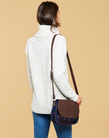 Joules Darby Tweed Saddle Bag