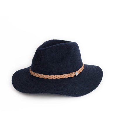 "Navy ""Katie Hat"" by Powder"