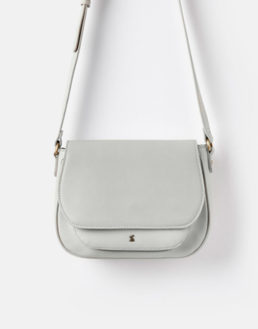 Joules Darby Cool Grey Saddle Bag