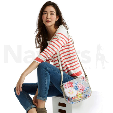 Joules Darby Floral Saddle Bag