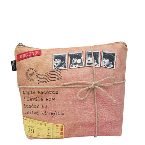 Beatles Ticket Wash Bag