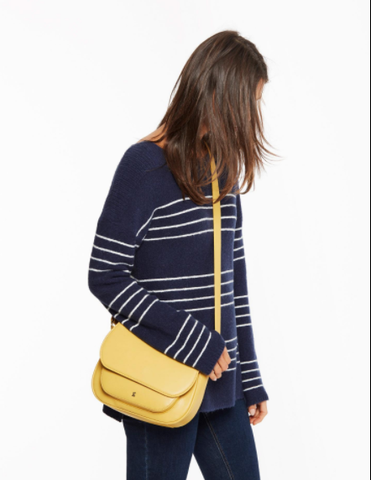 Joules Darby Bright Yellow Saddle Bag