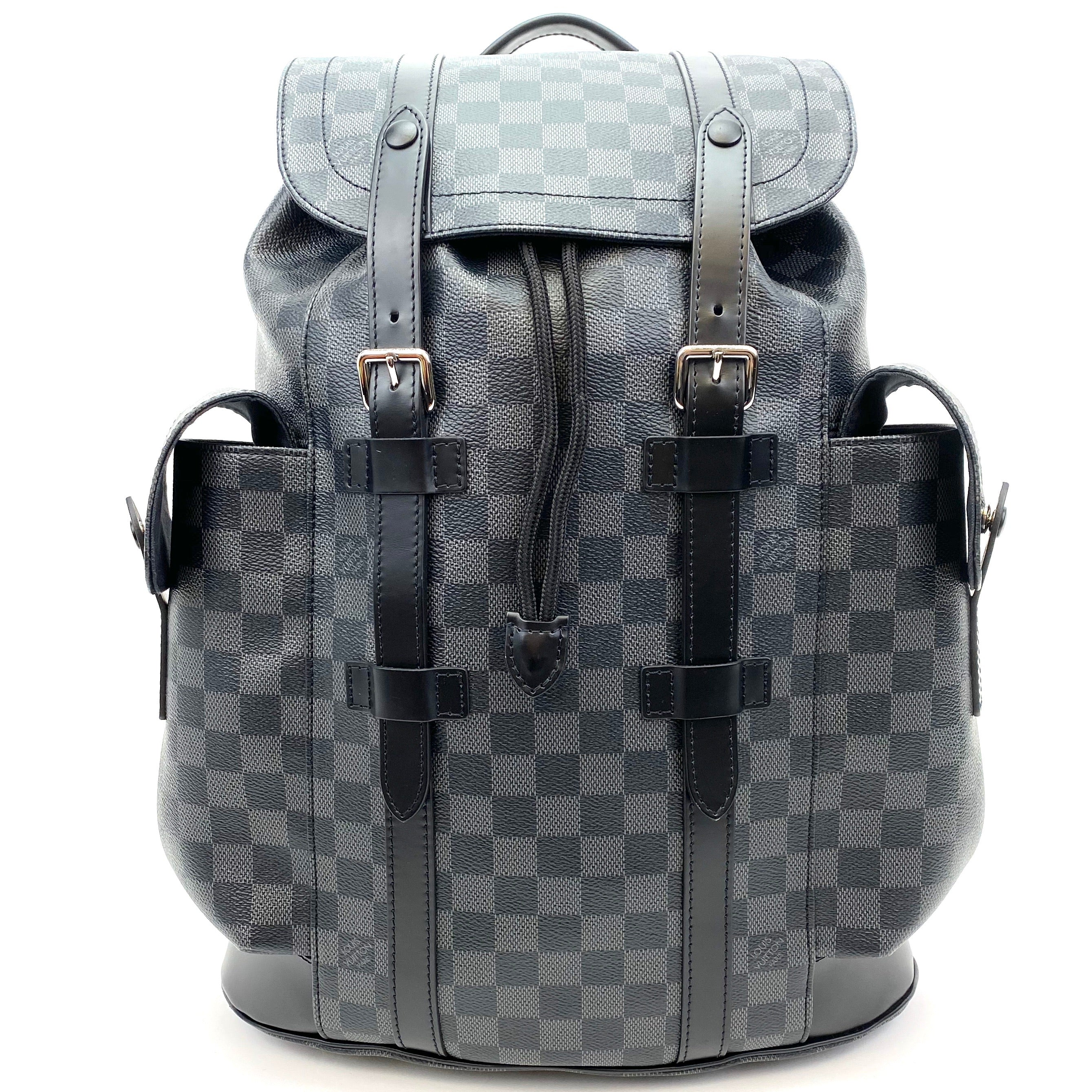 LOUIS VUITTON Damier Graphite Christopher PM