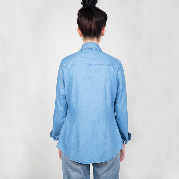 River Organic Cotton Denim Shirt - Hawthorn and Co - 2