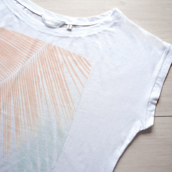 Riviera Crop Tee - Hawthorn and Co - 2