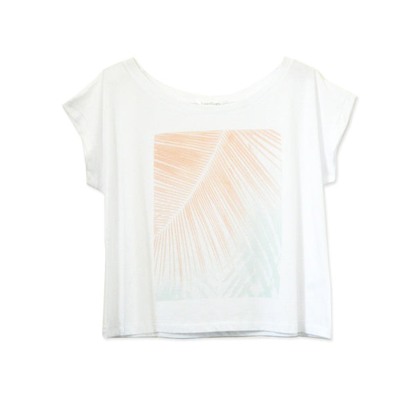 Riviera Crop Tee - Hawthorn and Co - 1