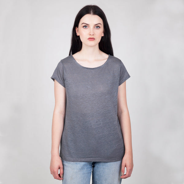 Tor Linen Slub T-Shirt - Hawthorn and Co