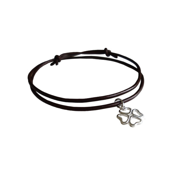 Lucky Leather Bracelet - Hawthorn and Co