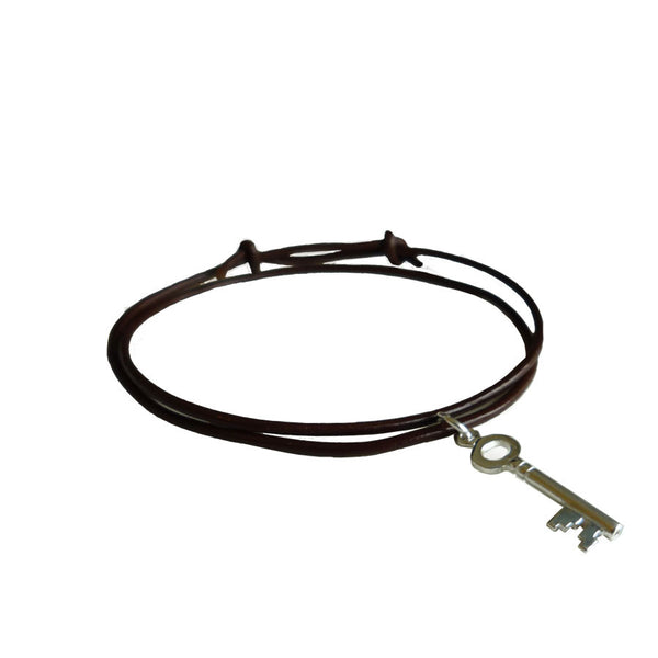 Key Leather Bracelet - Hawthorn and Co